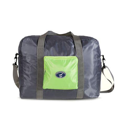 Mens Vanity Bag by 2016 New Designer Foldable Duffel Bag Travel Vanity Bag Korea Portable Folding Age Shoulder
