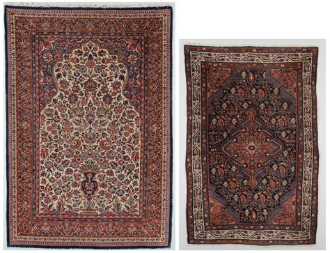 Lot 301 2 Antique Persian Area Rugs Rug Auctions