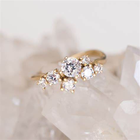 best 25 cluster ring ideas on ring designs