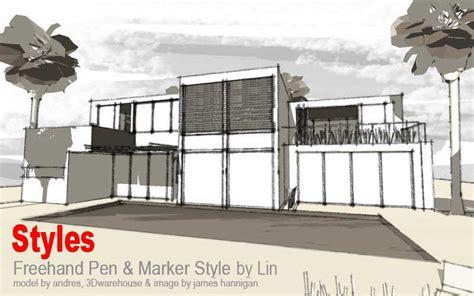 google sketchup rendering tutorial styles collection 2010 sketchup 3d rendering tutorials