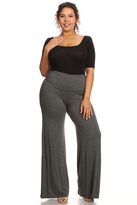 plazo for woman plus size women s palazzo pants lose fit wide leg folding