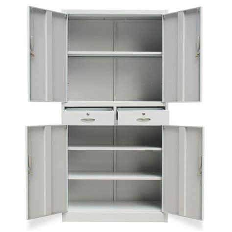 armadio metallico ufficio armadio metallico per ufficio con 4 ante e 2 cassetti