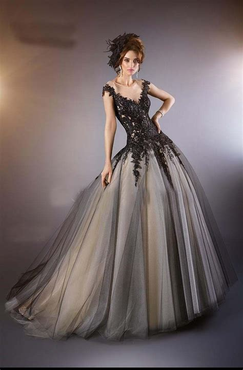 chagne black quinceanera dresses formal prom ball lace