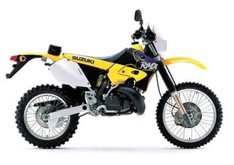Suzuki Rmx 125 Suzuki Rm250 And Rmx250 Model History