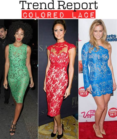 Black Friday Carpet Deals by Celebrity Style Colored Lace Trend