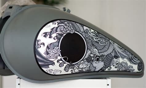 motorcycle tank paint ideas with a japanese touch moto verso