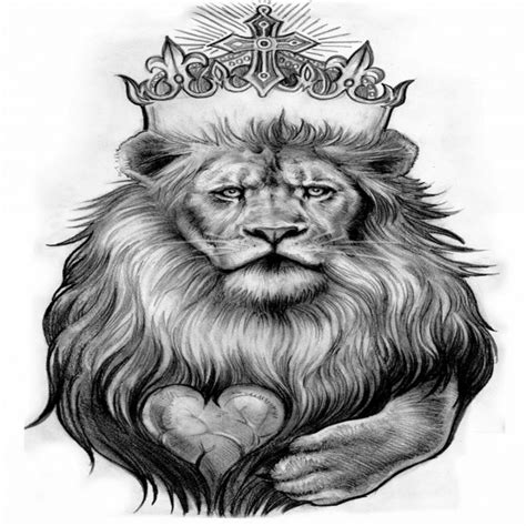black ink crown on lion head tattoo on left arm 27 amazing leo tattoos for guys