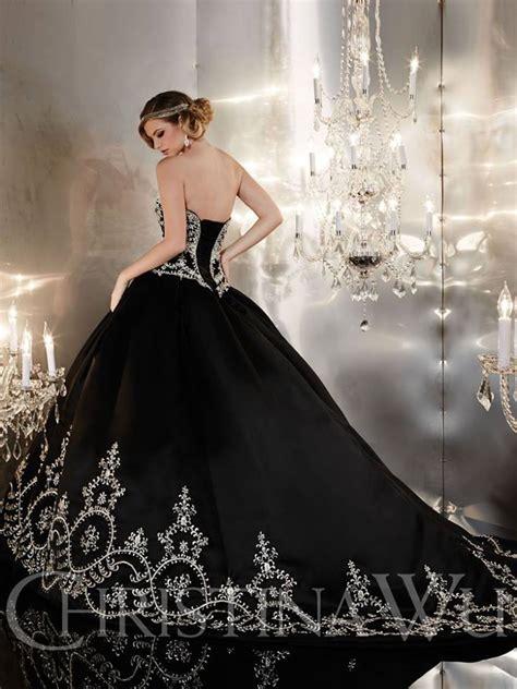 imagenes de vestidos de novia negro galer 237 a 21 vestidos de novia negros que har 225 n feliz a una