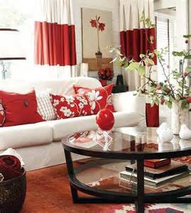 Orange Accent Chair - 15 impressive red and white interior designs that you