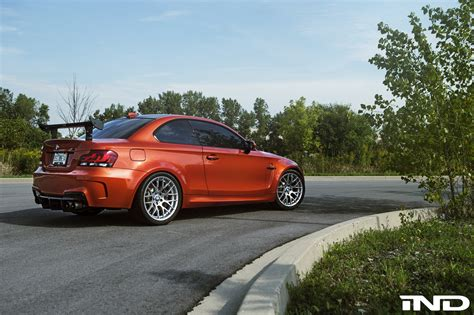 1m bmw valencia orange bmw 1m tuned by ind distribution