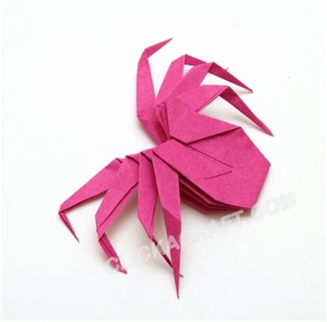 origami tarantula tutorial 127 best images about origami halloween on pinterest