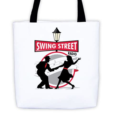 swing street all over tote swing street