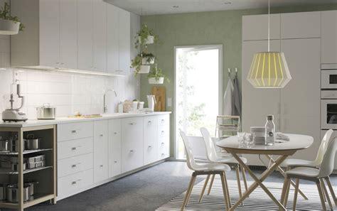 kitchen with big island matt n surrella s taste nordisch k 252 hl und schlicht ikea