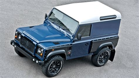 land rover track foto tuners project kahn land rover defender chelsea wide