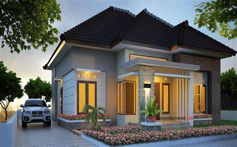desain tak depan rumah sederhana contoh desain rumah minimalis 1 lantai tak depan