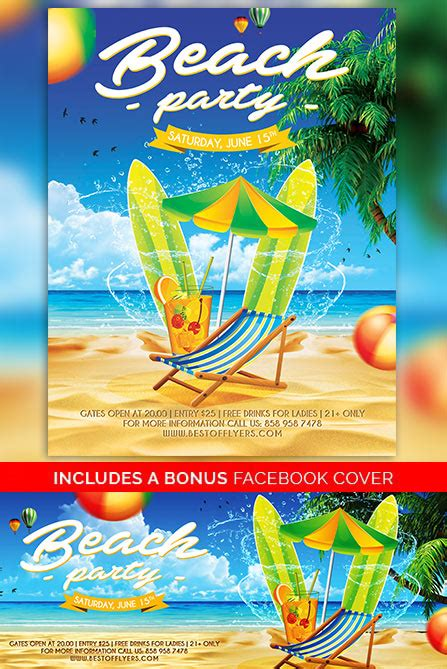 free summer c flyer template free poster template summer flyer designs