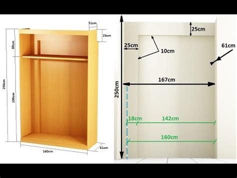 como hacer  armario empotrado entre paredes youtube