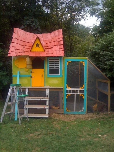 backyard chooks build a fairytale cottage chicken coop for your backyard
