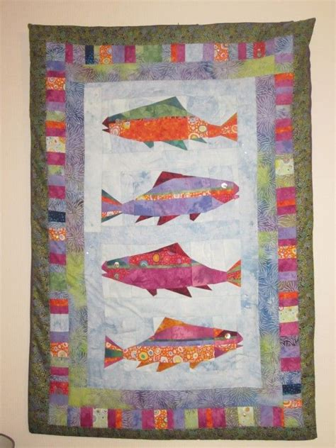 pattern making vancouver 67 best fish quilts images on pinterest fish quilt