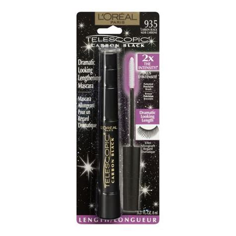 Mascara Loreal Telescopic Carbon Black l oreal telescopic mascara walmart ca