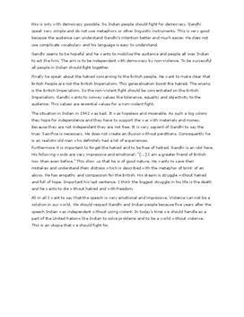 Mahatma Gandhi Essay Topics by Essay Gandhi