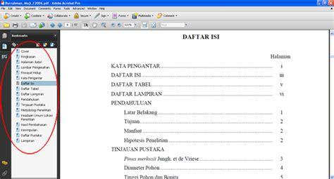 membuat hyperlink di pdf cara membuat bookmark pada file pdf