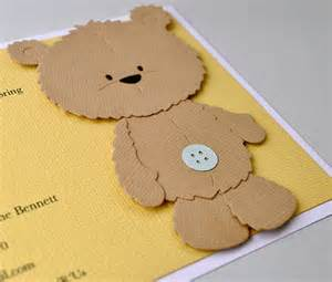 reserved listing brown teddy bear birthday invitation brown