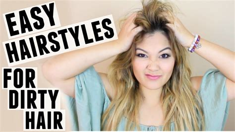 10 easy hairstyles for straight hair youtube cute hairstyles for dirty hair fade haircut