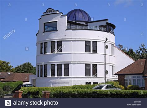 buy house southport an unusual round house overlooking royal birkdale golf course stock photo royalty