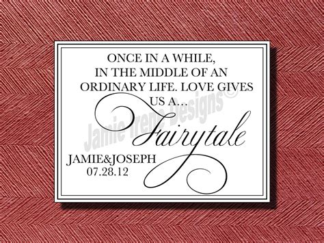 Wedding Quotes Etsy by Wedding Tale Quote Sign By Weddingsbyjamie On Etsy