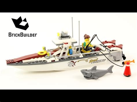 lego city fishing boat speed build lego city 60147 fishing boat lego speed build youtube