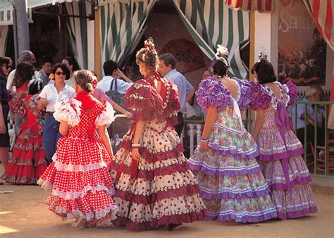 spain andalucia traditional clothing from maestla
