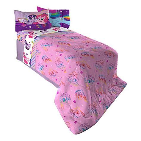 my little pony twin comforter hasbro ml4398 my little pony ponyfied reversible comforter