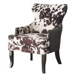 cow print chairs rustic classic modern faux leather cow animal print accent