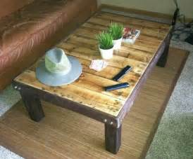 how to make a coffee table out of pallets plans making a coffee table out of pallets