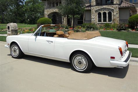 1978 rolls royce corniche 2 door convertible 113953