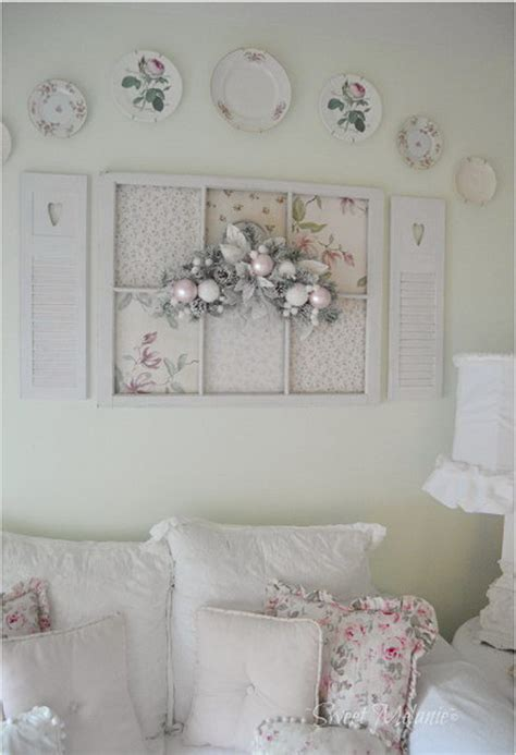 Shabby Chic Decorations by Shabby Chic Fan Decorated Wall From