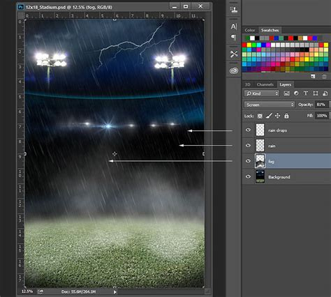 templates for photoshop cc soccer stadium backgrounds