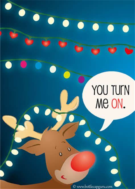 turn  onnaughty christmas card  love ecards greeting cards
