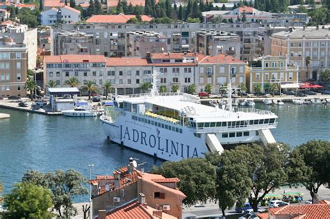 ferry zadar to split getting to zadar visit croatia