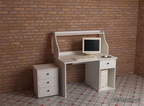 old ikea desk models johan ikea 3d model 3d land net