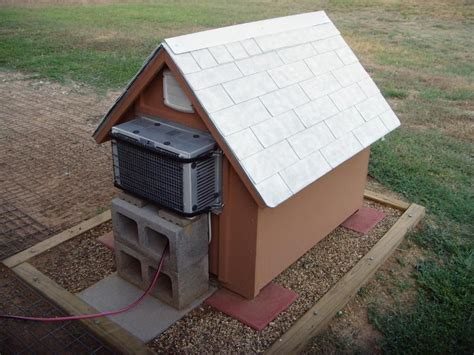 homemade dog house dog house with ac things for jeff pinterest dog houses dog and house