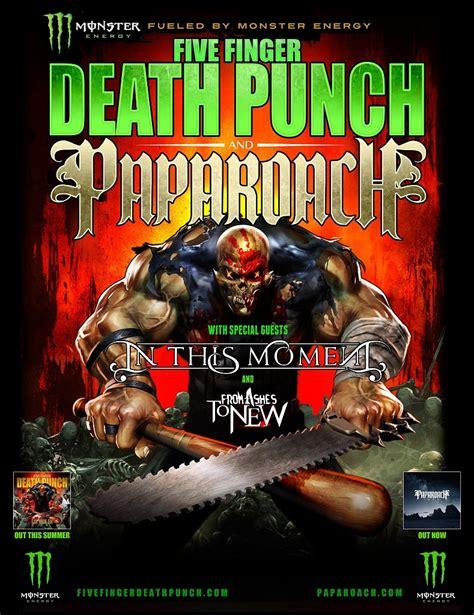 five finger death punch uk tour five finger death punch and papa roach announce tour dates