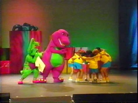 barney and the backyard gang concert whatsoever critic quot barney in concert quot video review