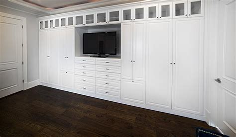 Custom Wall Closets by Bedroom Wall Closet Systems Weifeng Furniture