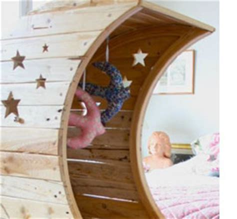 Beautiful Diy Moon Crib Diply - home dzine bedrooms make a beautiful moon crib or bed