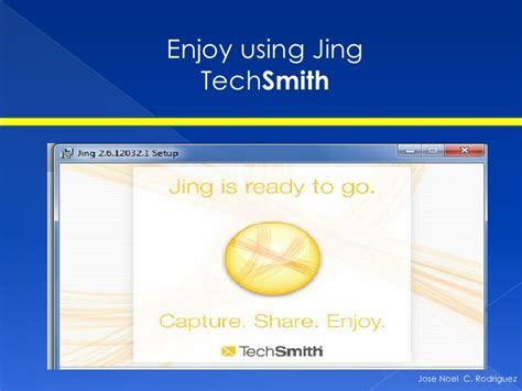 jing tutorial powerpoint how to use jing