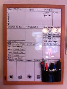 home organization plan dry erase board family organization 3 house organization