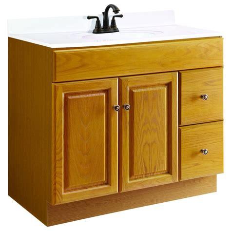 design house vanity cabinets design house 545178 claremont 2 doors 2 drawers oak