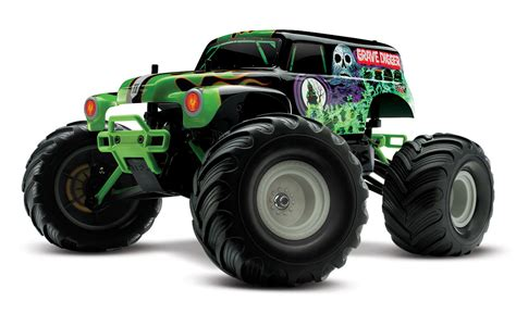 traxxas grave digger rc monster truck traxxas 1 16 grave digger new rc car action